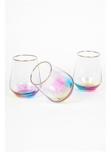 Rakle 425 CC Rainbow Meşrubat Bardağı Renkli